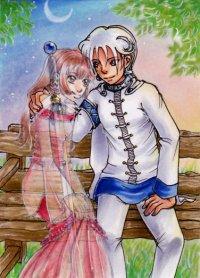 Fanart: Kakao-Karte #35 - In memory of Saint Valentine's