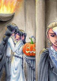 Fanart: Kakao-Karte #62 - Halloween-Ball
