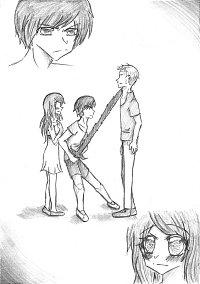 Fanart: Taiki & Sachiko || #SzenenSkizze01