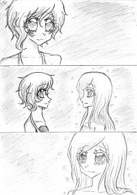 Fanart: Ayaka & ??? || #SzenenSkizze04