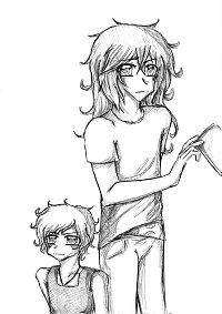 Fanart: Ren & Akaya