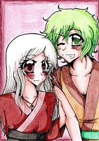 Fanart: Aya & Ren