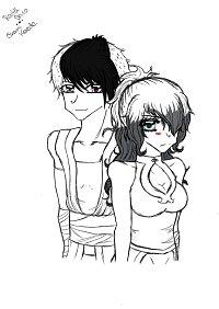 Fanart: Shiro & Kaede