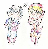 Fanart: Yui: seriously???  Ayumi: ich finds süß... - Harayuku