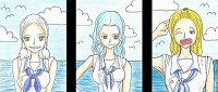 """Fanart: #37-39 """"Kori"""" """"Jhu"""" und """"Akio"""" - Der Stolz der Marine"""