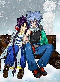 Fanart: Winternacht 3 (Er freut sich)
