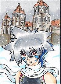 Fanart: Kai vor Schloss Ljubow Kakao #27