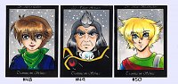 Fanart: Tis Kakao- Alex, Voltaire, Max