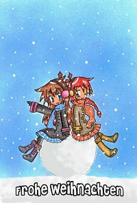 Fanart: Frohe Weihnachten 2008 [HnM]
