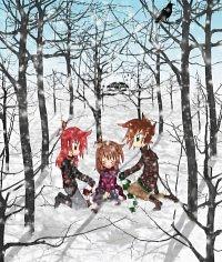 Fanart: Schneeweiße Erinnerungen [HnM]