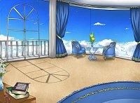Fanart: Green's Zimmer [VN-Hintergrund]