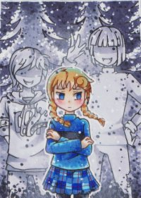 Fanart: # 153 - Weiße Kindheit [HnM] »»» 7.Türchen