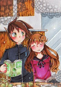 Fanart: # 207 - Ein Momentchen Stille [Adventstürchen #06] [Himitsu no Mahou]