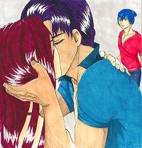 Fanart: Kapitel 5: Karas erster Kuss
