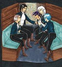 Fanart: Kapitel 9: Fünf Typen in einer Kutsche