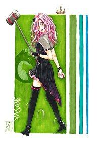 Fanart: Prinzessin Yasane