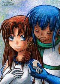 Fanart: *My One and Only Hikari-sama*