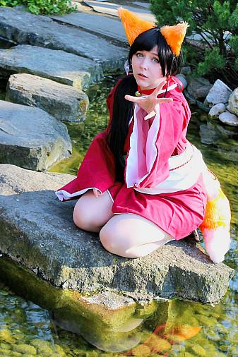 Kokoro Kitsune Cosplay Von Ayumon Auf Animexxde