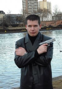 Cosplay-Cover: Max Payne (Filmversion)