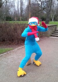 Cosplay-Cover: Perry das Schnabeltier ( Weihnachtsversion)