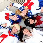Cosplay: Usagi Tsukino [Schuluniform]