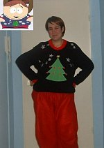 Cosplay-Cover: Eric Cartman - Weihnachtsoutfit (S06E17)