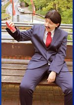 Cosplay-Cover: Kogoro Mori