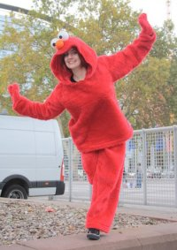 Cosplay-Cover: Elmo (Sesamstraße)