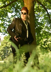 Cosplay-Cover: Crowley