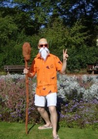 Cosplay-Cover: Muten Roshi ~Beach-Outfit~