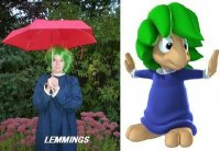 Cosplay-Cover: Lemming