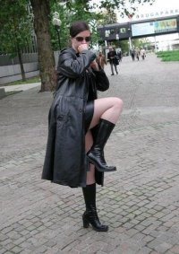 Cosplay-Cover: Matrix-Style