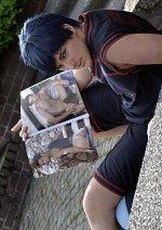 Cosplay-Cover: Daiki Aomine (Too Trikot)