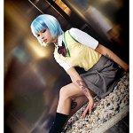 Cosplay: Ayanami Rei [school uniform]