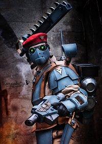 Cosplay-Cover: Militarum Tempestus Scion