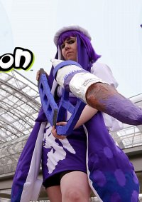 Cosplay-Cover: Inkling Girl [Famitsu Outfit]
