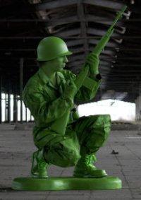 Cosplay-Cover: Toy Soldier/Army Men