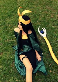 Cosplay-Cover: Female Loki
