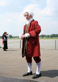 Cosplay-Cover: Wolfgang Amadeus Mozart