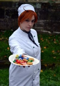 Cosplay-Cover: Chef Itali CD Cover