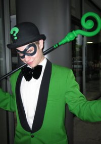 Cosplay-Cover: Riddler [Tim Sale]