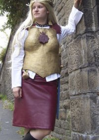 Cosplay-Cover: Angua (Stadtwache Ankh-Morpork)