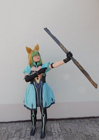 Cosplay-Cover: Atalante Archer of Red