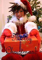 Cosplay-Cover: Sora Christmas Town (red)