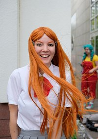 Cosplay-Cover: Orihime Inoue- Schuluniform
