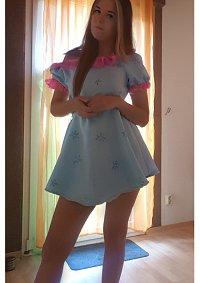 Cosplay-Cover: Flora Pyjama
