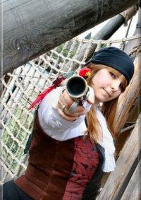 Cosplay-Cover: Female Pirate Navigator
