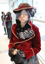 Cosplay-Cover: Ciel Phantomhive Red Version