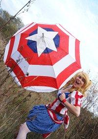 Cosplay-Cover: Fem!Captain America