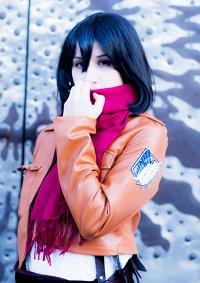 Cosplay-Cover: Mikasa Ackermann